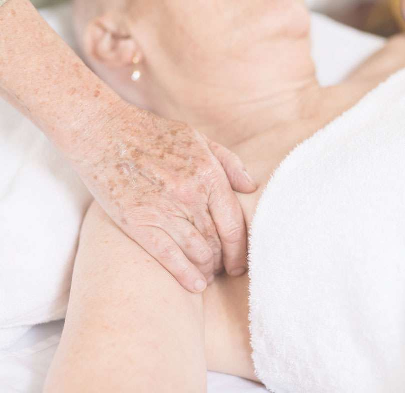 under arm lymphoedema oncology massage adelaide